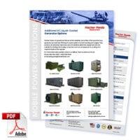 Additional AC Liquid-Cooled Generator Options