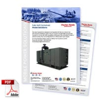 Fully Self Contained Power solution