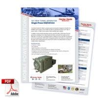 Military 10KW 60Hz Single Phase