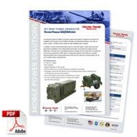 Military 18KW 60Hz Three Phase